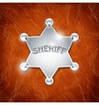 Sheriffs metallic badge vector | Price: 3 Credits (USD $3)