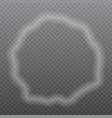 smoke frame vector image vector image