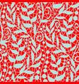 vintage floral seamless pattern decorative vintage vector image