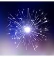 Ice Light fireworks vector image