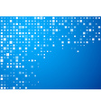 Circles technology blue banner vector image vector image