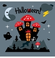 Happy Halloween Concept Cartoon vector image vector image