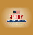 happy independence day style design banner vector image vector image