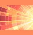 mosaic sunset vector image