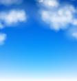 Realistic Sky vector image vector image