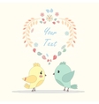 postcard for lovers vector image