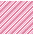 baby girl color pink striped background vector image vector image
