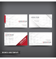 Business Card template set 58 vector image vector image