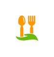 care food logo icon design vector image vector image