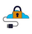 Cloud computing security data cable