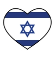 Flag icon Israel culture design graphic vector image vector image