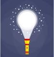 flashlight or pocket torch vector image