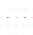 party flag icon pattern seamless white background vector image vector image