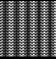 seamless black vertical pattern vector image