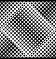 seamless monochrome abstract dot pattern vector image vector image