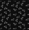 Security camera dark seamless pattern