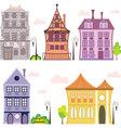european-house vector image