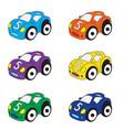 kids cars cartoon set cars toys vector image