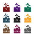 beet icon in black style isolated on white vector image