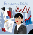 business ideas 6 vector image