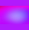 pink purple blue rows of triangles background vector image vector image