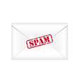 Spam envelope vector image vector image