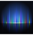 abstract color light lines vector image vector image