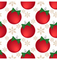 christmas holiday season seamless pattern vector image vector image
