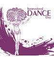 dance day samba vector image