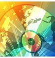 Disco globe vector image