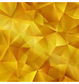 gold bright background with triangle shapes vector image vector image