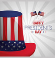 happy presidents day vector image vector image