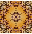 mandala henna vector image