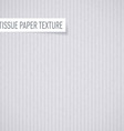 Tissue paper texture vector image vector image
