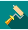 Tool roller icon flat style vector image vector image
