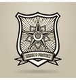 Police Badge vector image