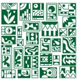 abstract iconsenergy - icons vector image vector image