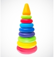Children Pyramid Isolated vector image vector image