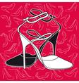 fashion heels vector image