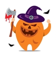 Halloween Monster Cartoon vector image