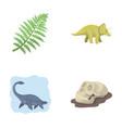 Sea dinosaurtriceratops prehistoric plant human