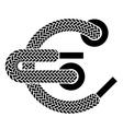 Shoe lace euro symbol