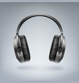 wireless headphones vector image vector image