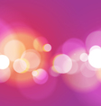 Abstract Bokeh Light Purple Background vector image