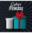 Cyber Monday shopping season vector image vector image