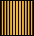 halloween pattern black and yellow vertical strips vector image vector image
