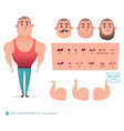 man character for your scenes vector image vector image
