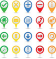 Map markers vector | Price: 1 Credit (USD $1)