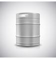 Metal beer keg vector image vector image
