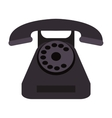 rotary phone icon vector image